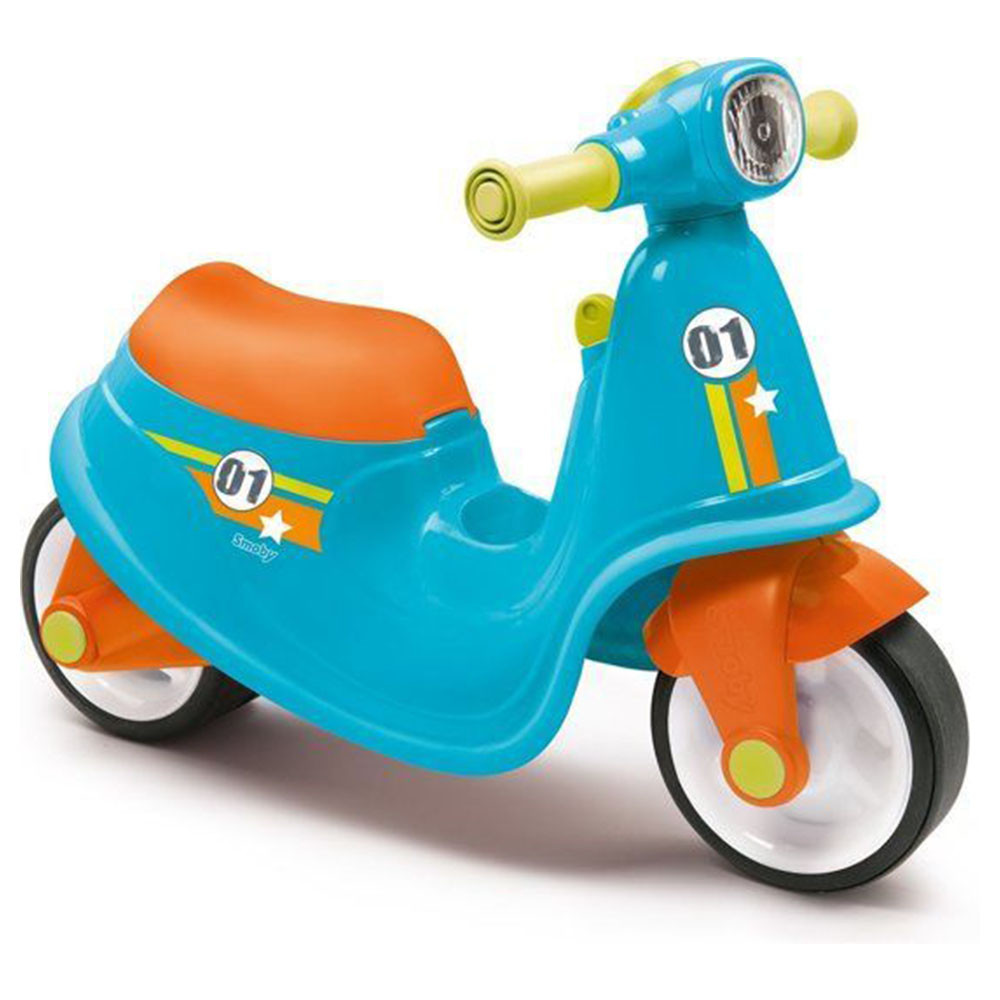 SMOBY  Scooter Ride On Blauw